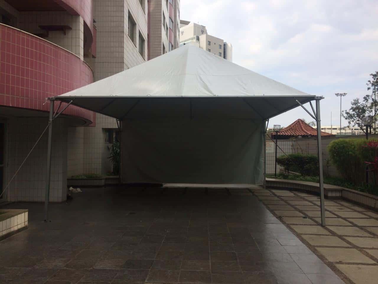 Tenda 6x6 com calhas laterais - Foto 30