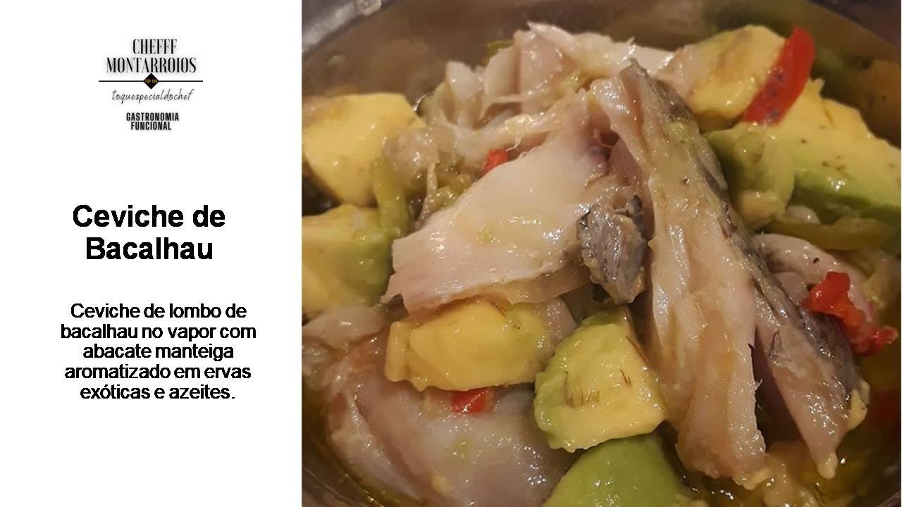 Ceviche de Bacalhau - Foto 1