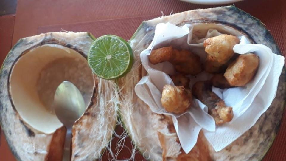 Pescada amarela no coco - Foto 1