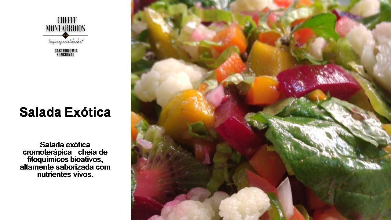 Salada Exótica - Foto 1