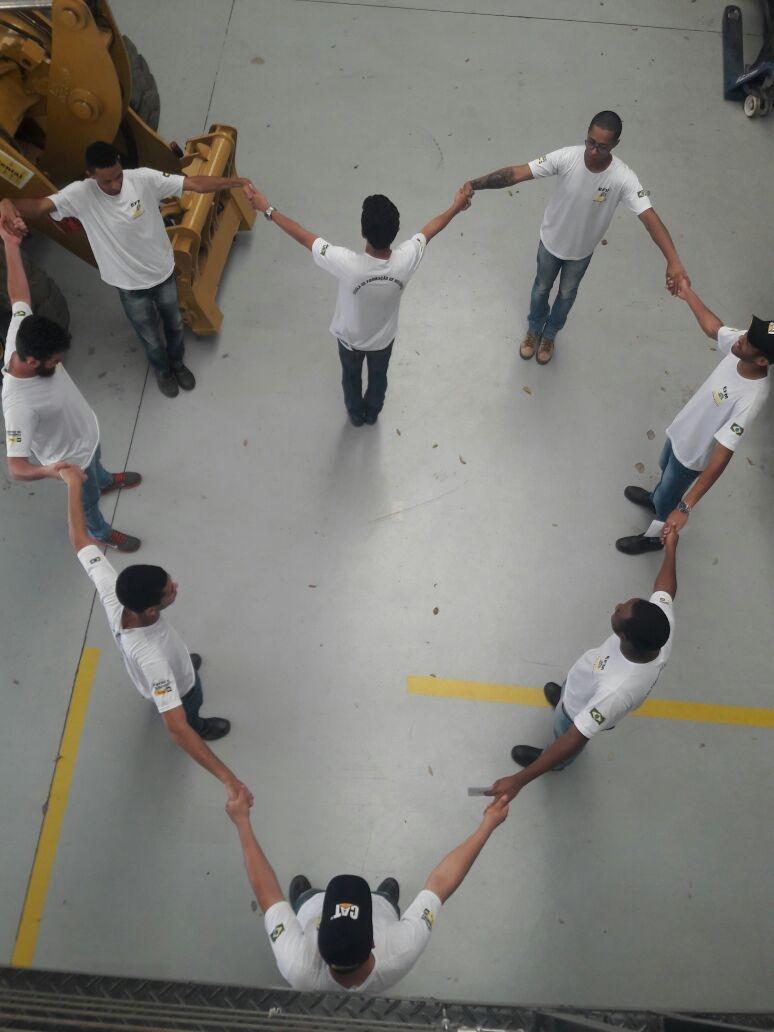 Ginástica Laboral no Dia Mundial do Coração