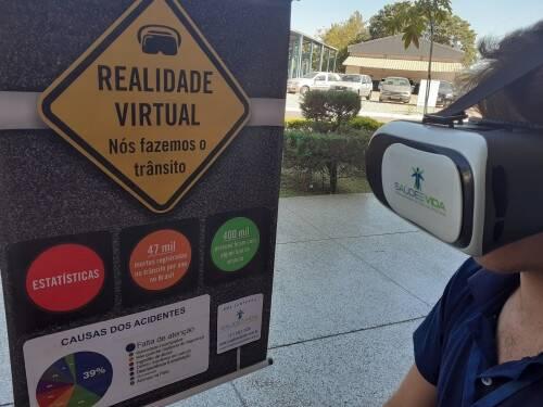 Realidade Virtual tema Trânsito