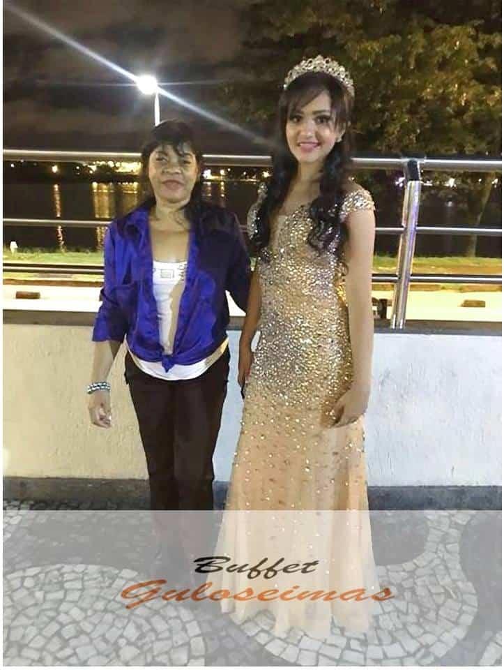 Debutante com Rose Fernandes
