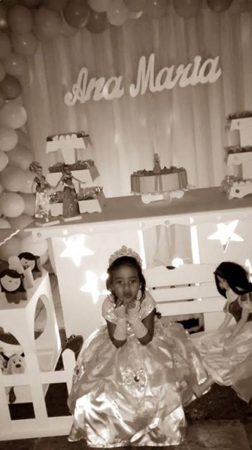festa infantil branca de neve