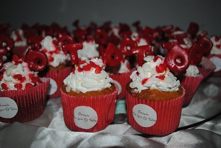 Cupcake: 2,50 unidade