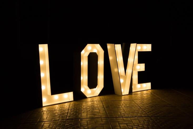 Letreiro Luminoso de Led LOVE - Foto 3