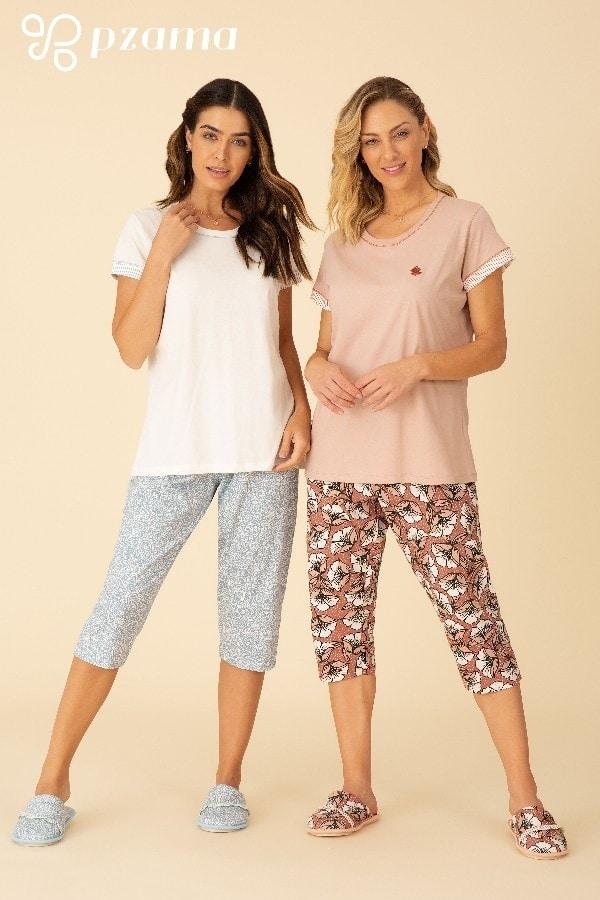 Pijamas 100% Algodão - Foto 3