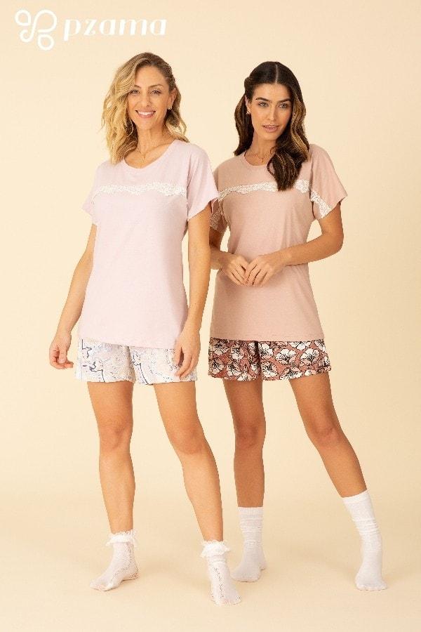 Pijamas 100% Algodão - Foto 4