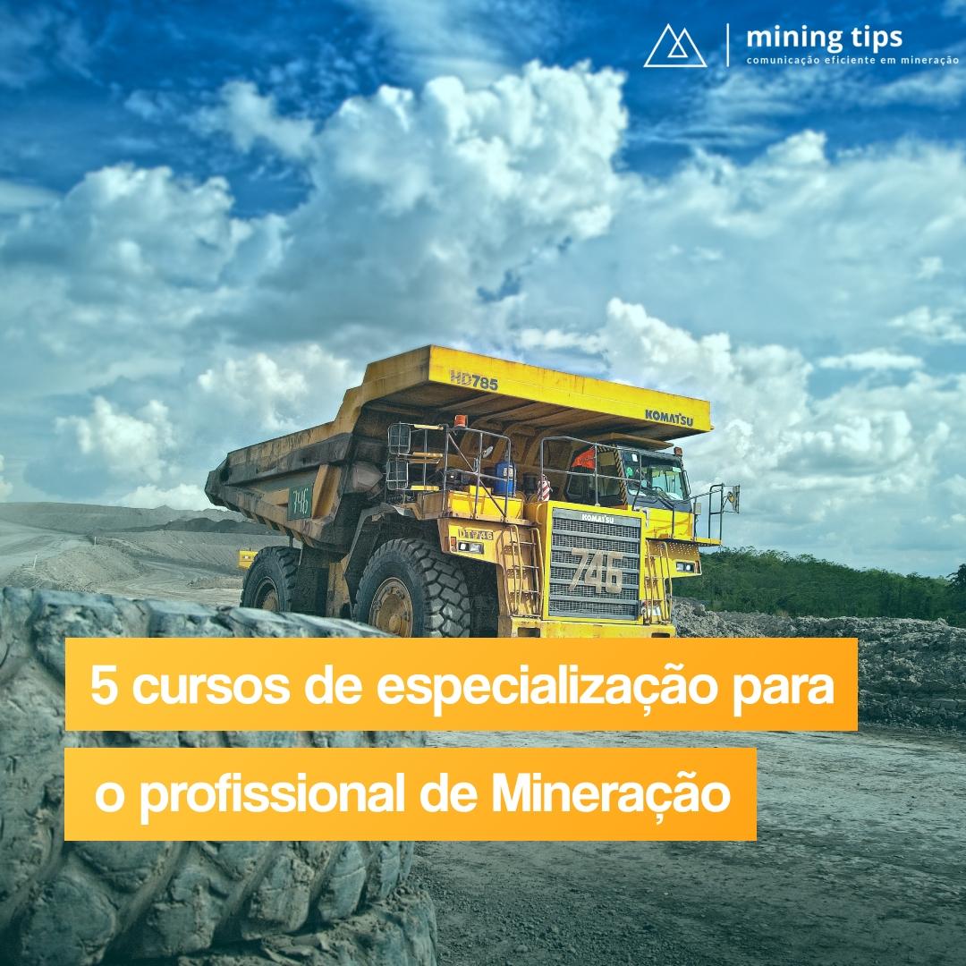 5 dicas de especialização para o profissional de mineração