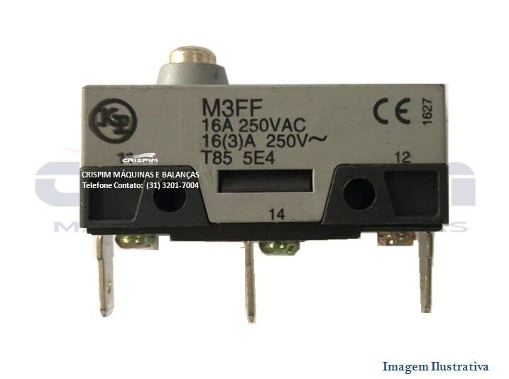 MICRO SWITCH CURTO 16A 250V T85 CROYDON - Foto 1