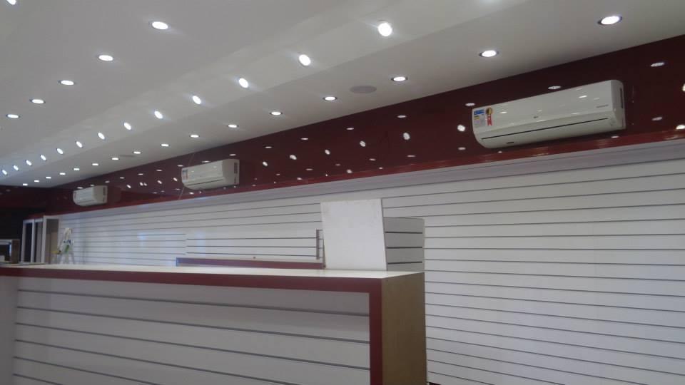 climatização de loja