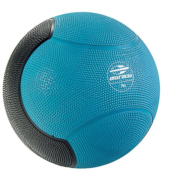 Medicine Ball 3Kg Mormaii - Foto 1