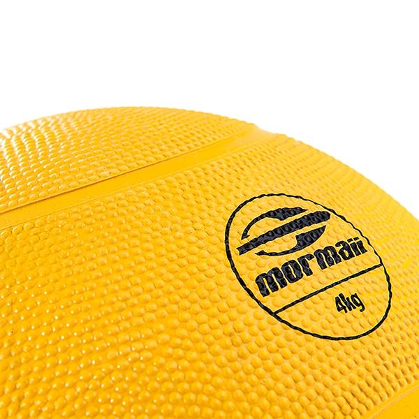Medicine Ball 4Kg Mormaii - Foto 2