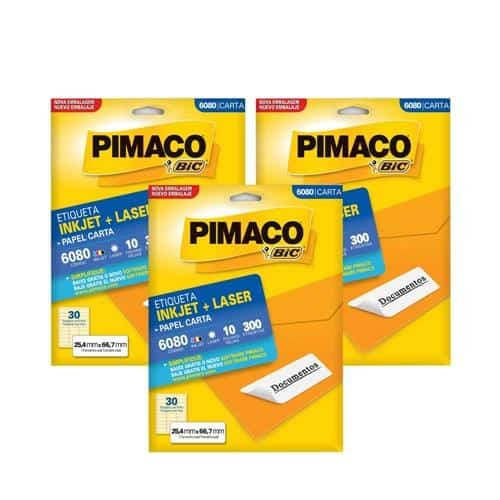 Etiqueta Pimaco