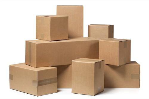 Temos caixas de papelão de diversos tamanhos