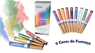 Fumaça Colorida - Foto 1