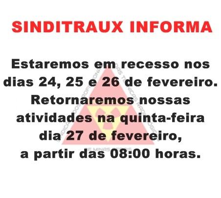 SINDITRAUX INFORMA