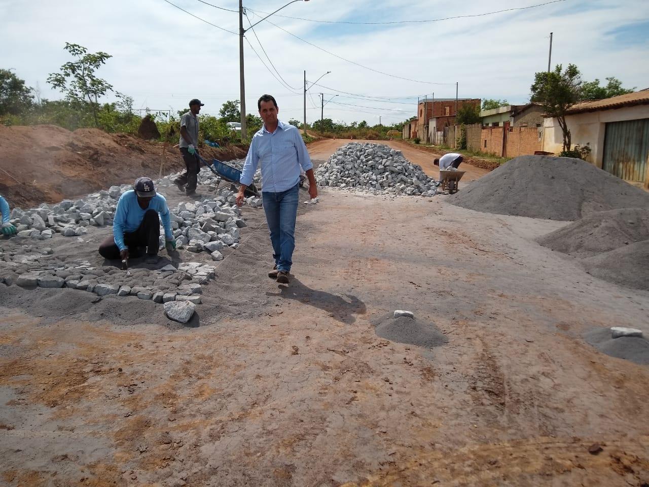 Pavimentação Poliédrica