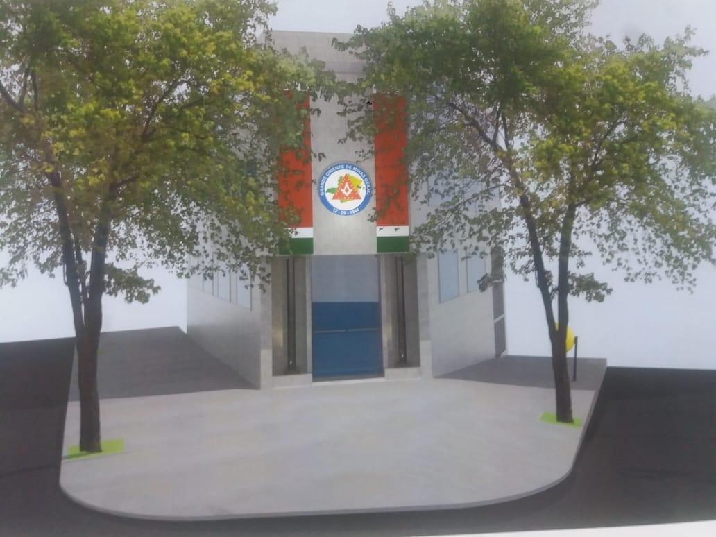 Reforma da sede do GOMG