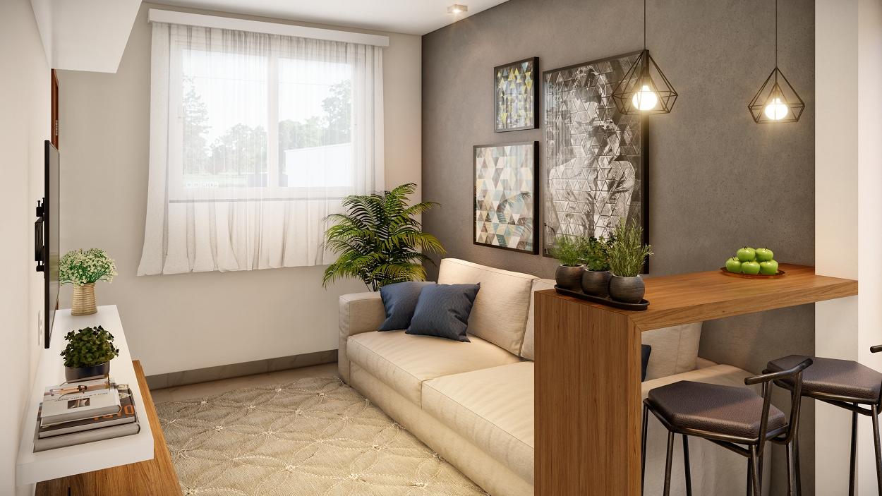 Imagens ilustrativas apartamento decorado