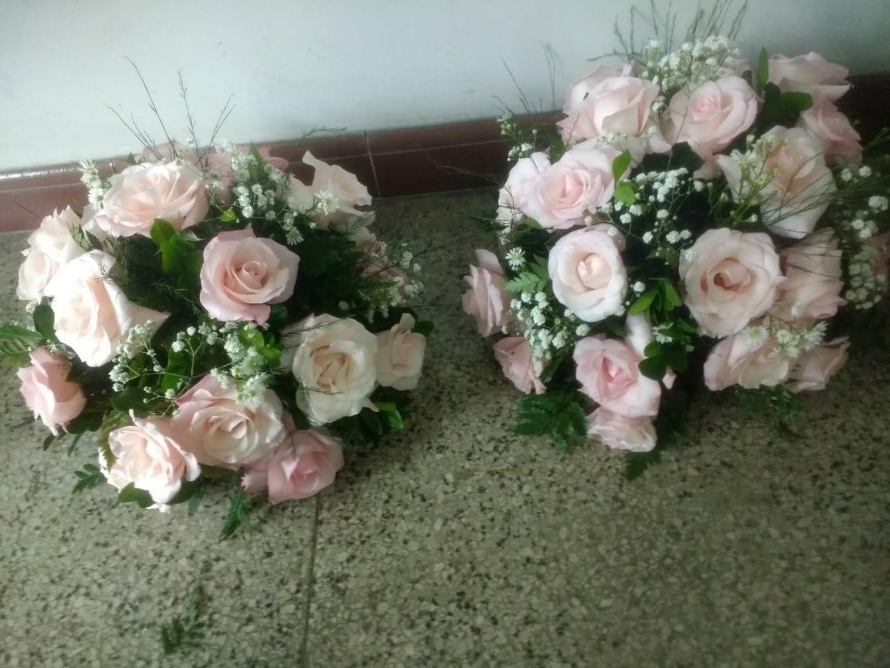 Arranjo de rosa Vânia