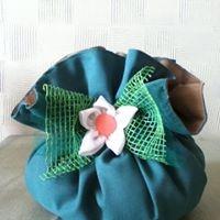 Cachepô de tecido - Foto 2