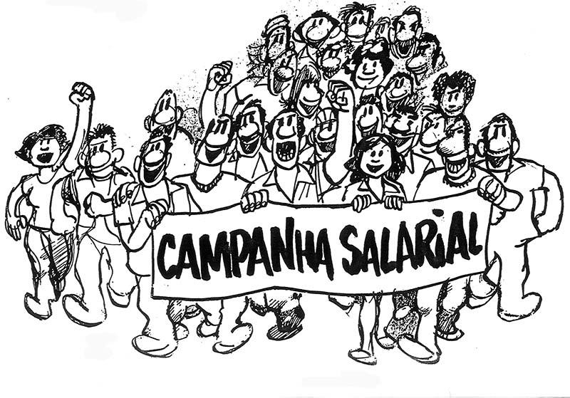 Campanha Salarial - Setembro 2018 à janeiro 2019