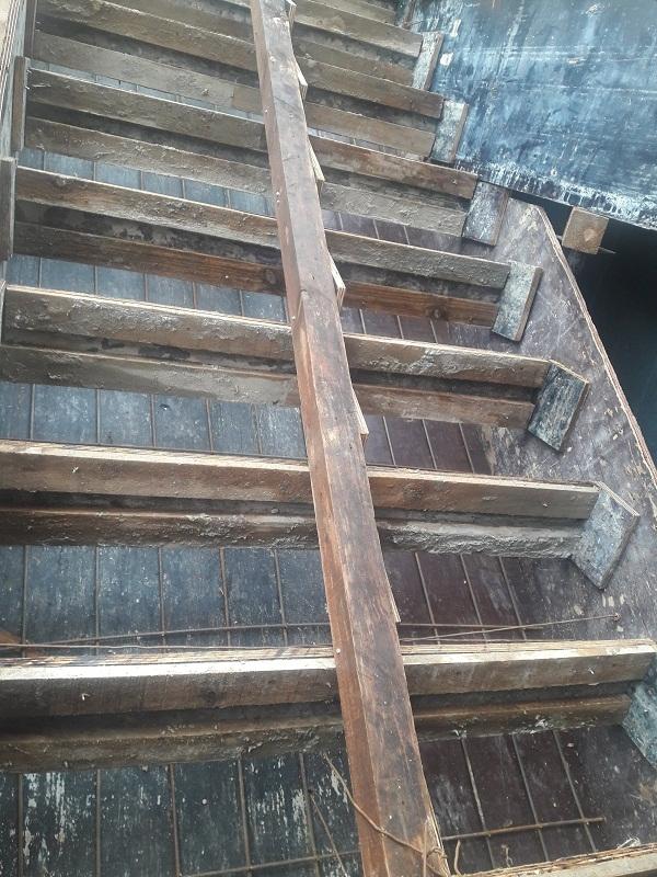 forma de escada