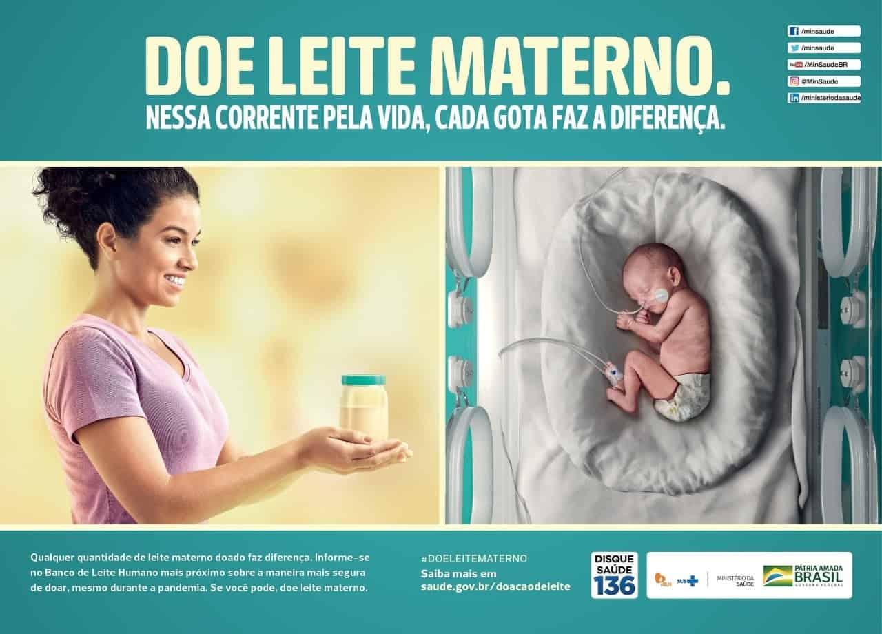 Campanha de doação de leite