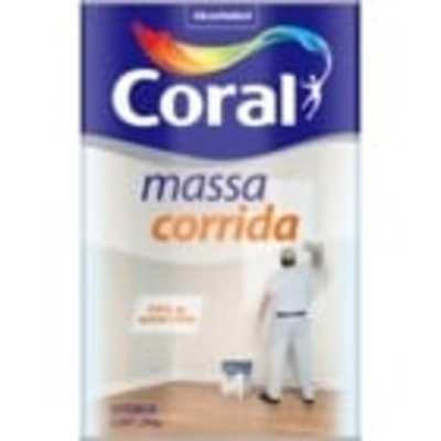 Massa corrida Coral - Foto 1