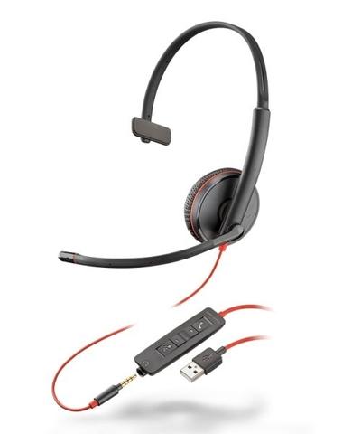 HEADSET BLACKWIRE C3215 USB - Foto 1