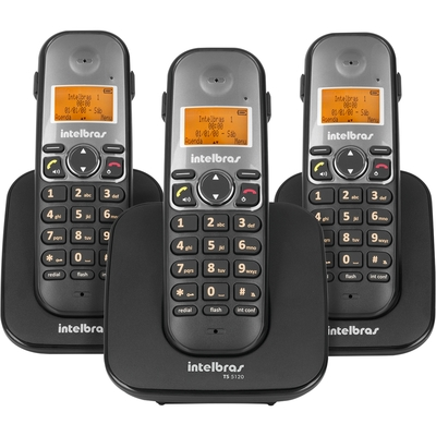 TELEFONE SEM FIO DIGIRAL COM RAMAL TS 5123 - Foto 1