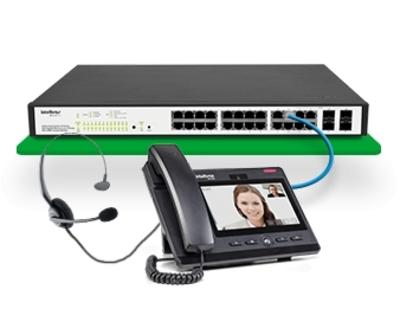 TIP 638V TELEFONE IP GIGA - Foto 1