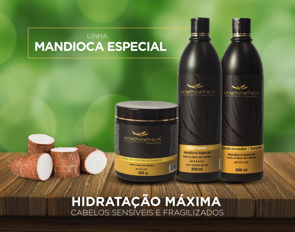 SHAMPOO MANDIOCA - Foto 2