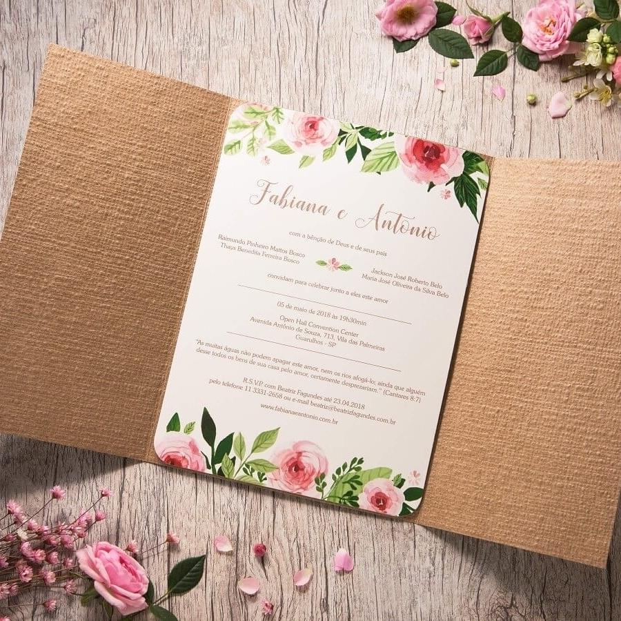Convites de Casamento - Foto 2