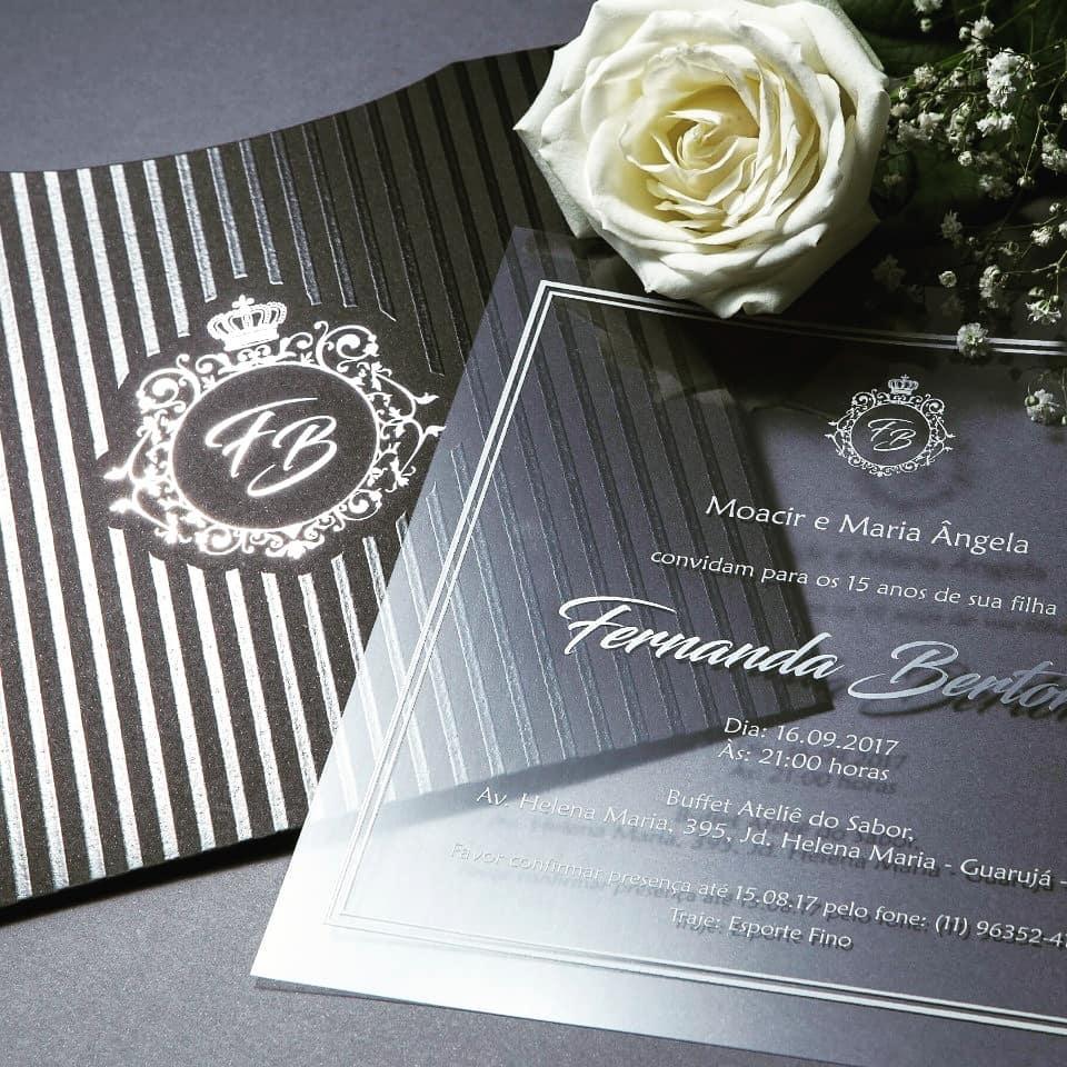 Convites de Casamento - Foto 3