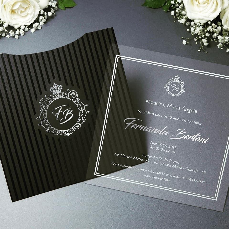 Convites de Casamento - Foto 4