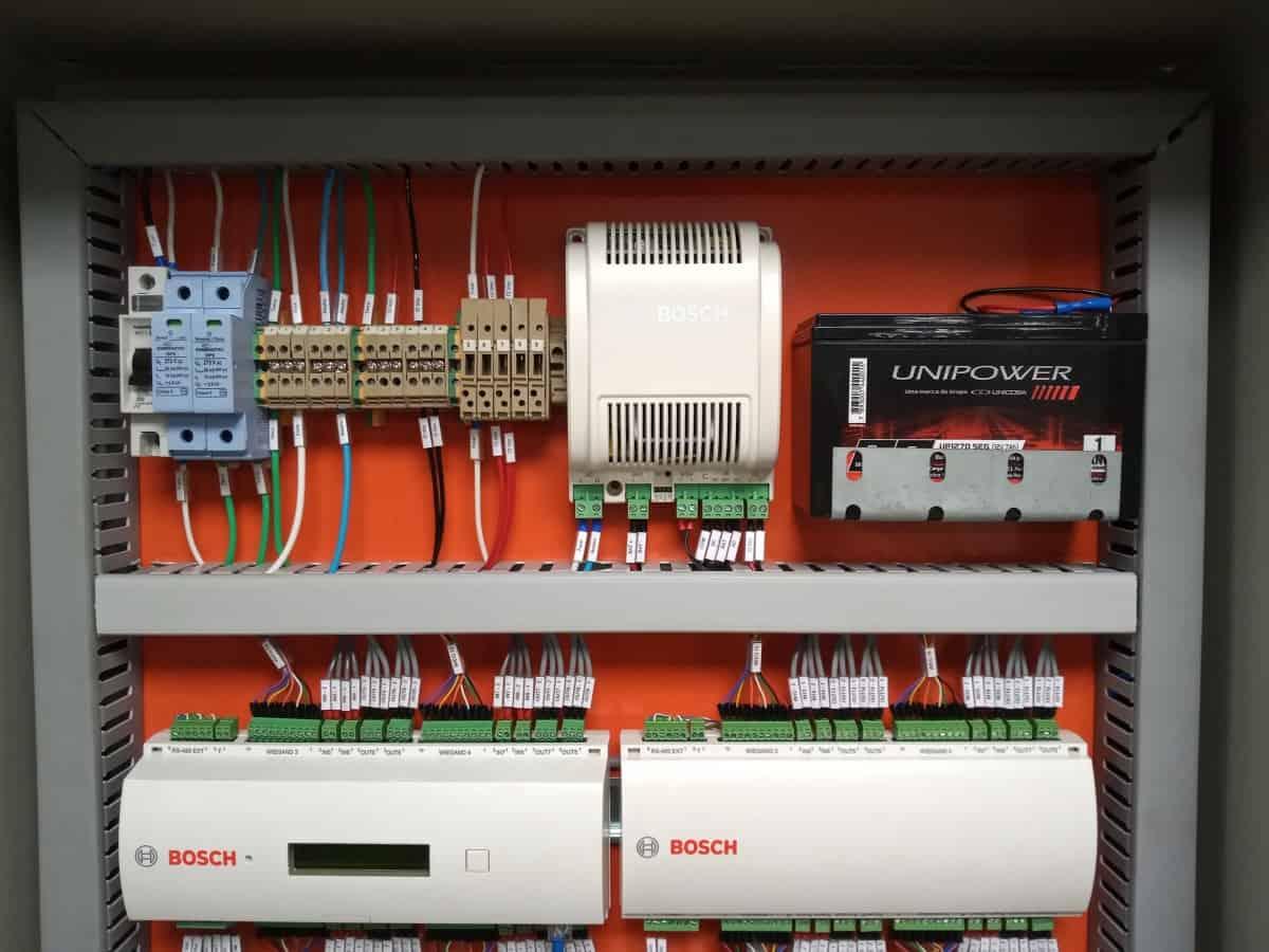 Quadros de Controle de Acesso - Bosch AMC2