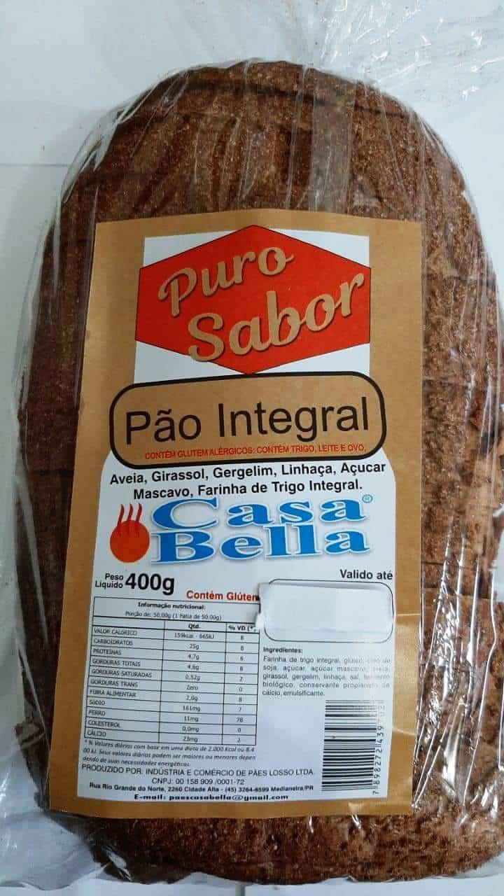 Pão integral puro sabor - Foto 1