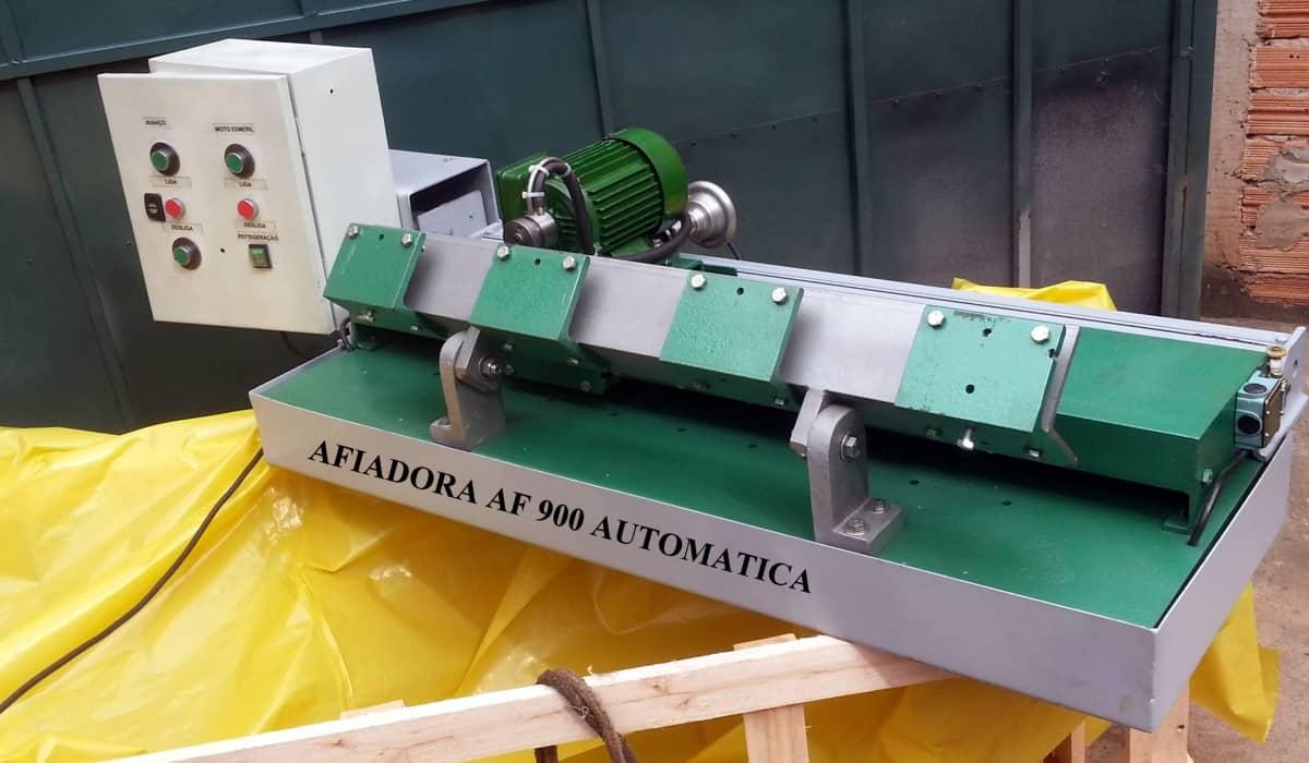 AFIADORA DE FACA AF 900 MANUAL COM REFRIGERAÇÃO - Foto 2
