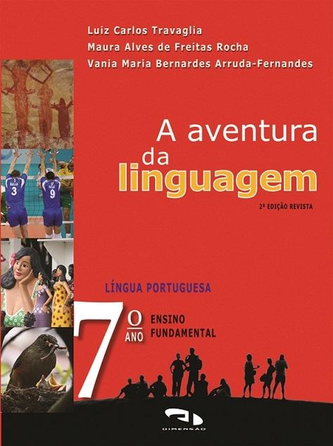 Livro A Aventura da Linguagem - 7º ano