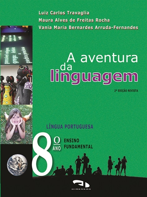 Livro A Aventura da Linguagem - 8º ano