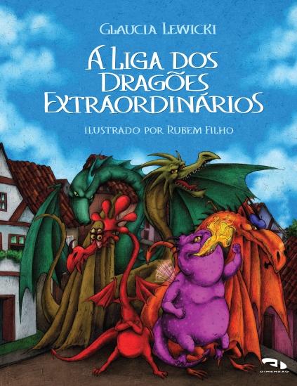 Livro A Liga dos Dragões Extraordinários