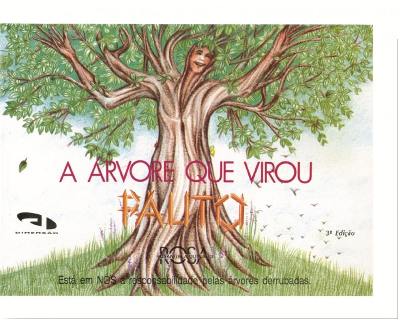 Livro A árvore que virou palito