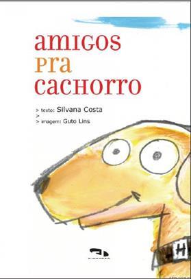 Livro Amigos pra cachorro