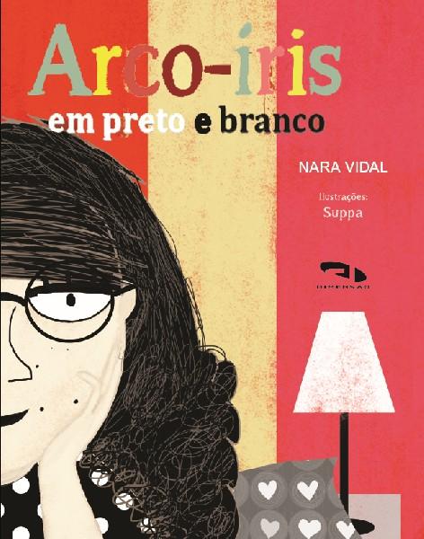 Livro Arco-íris em preto e branco