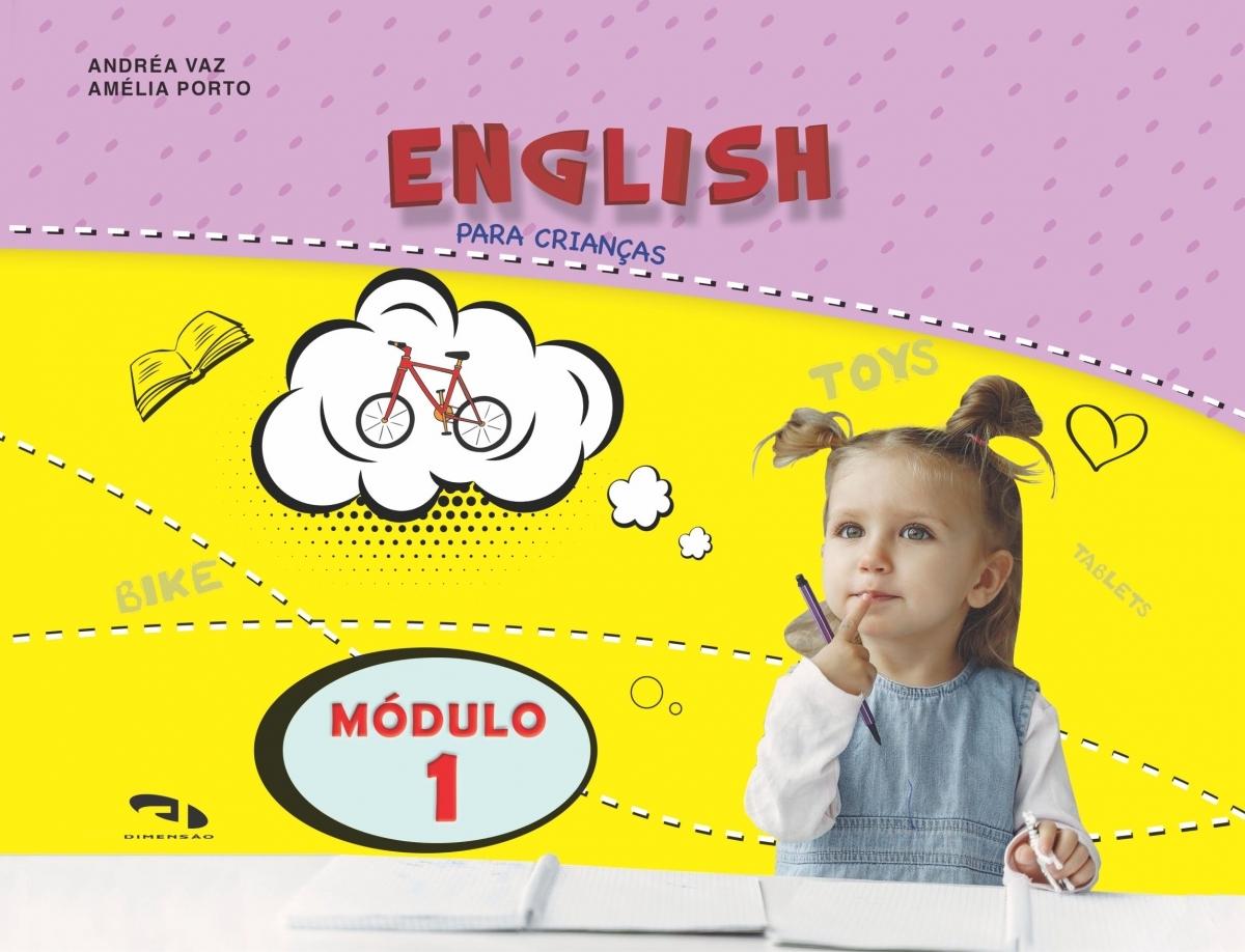 Livro Coleção Girassol - English para crianças Módulo 1