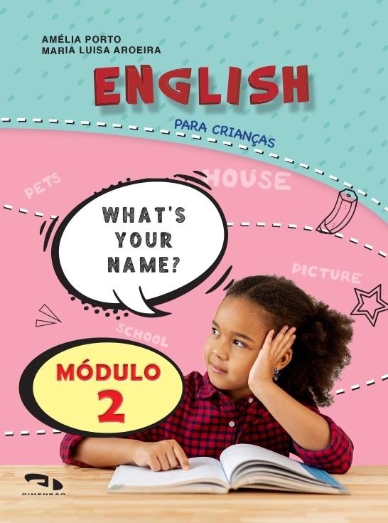 Livro Coleção Girassol - English para crianças Módulo 2
