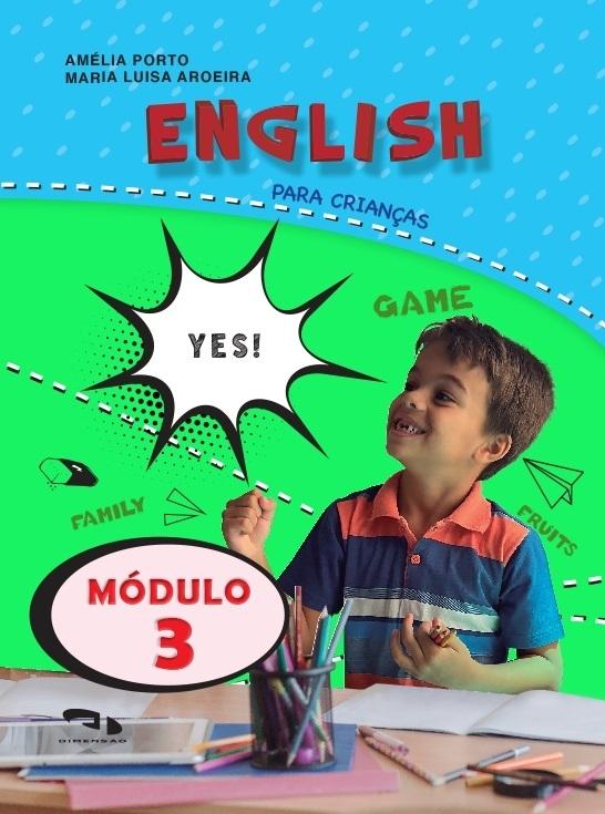 Livro Coleção Girassol - English para crianças Módulo 3