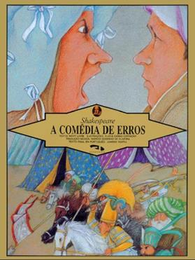 Livro A comédia de erros